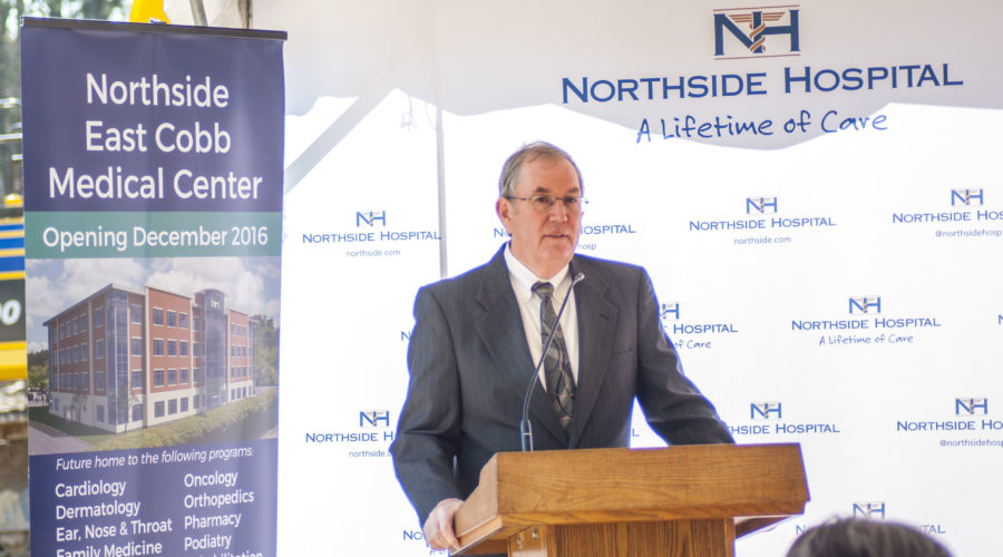 Northside Hospital breaks ground on new East Cobb Medical Center