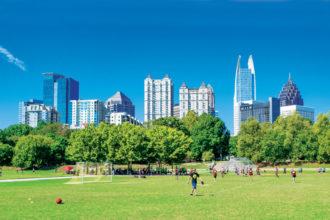 Atlanta's Piedmont Park