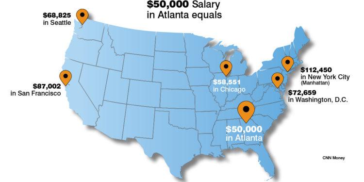 How Far Will Your Money Get You In Atlanta Knowatlanta