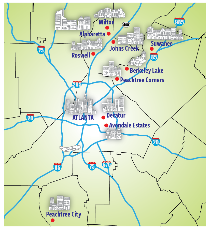 Atlanta's Best Suburbs to Call Home | | KNOWAtlanta