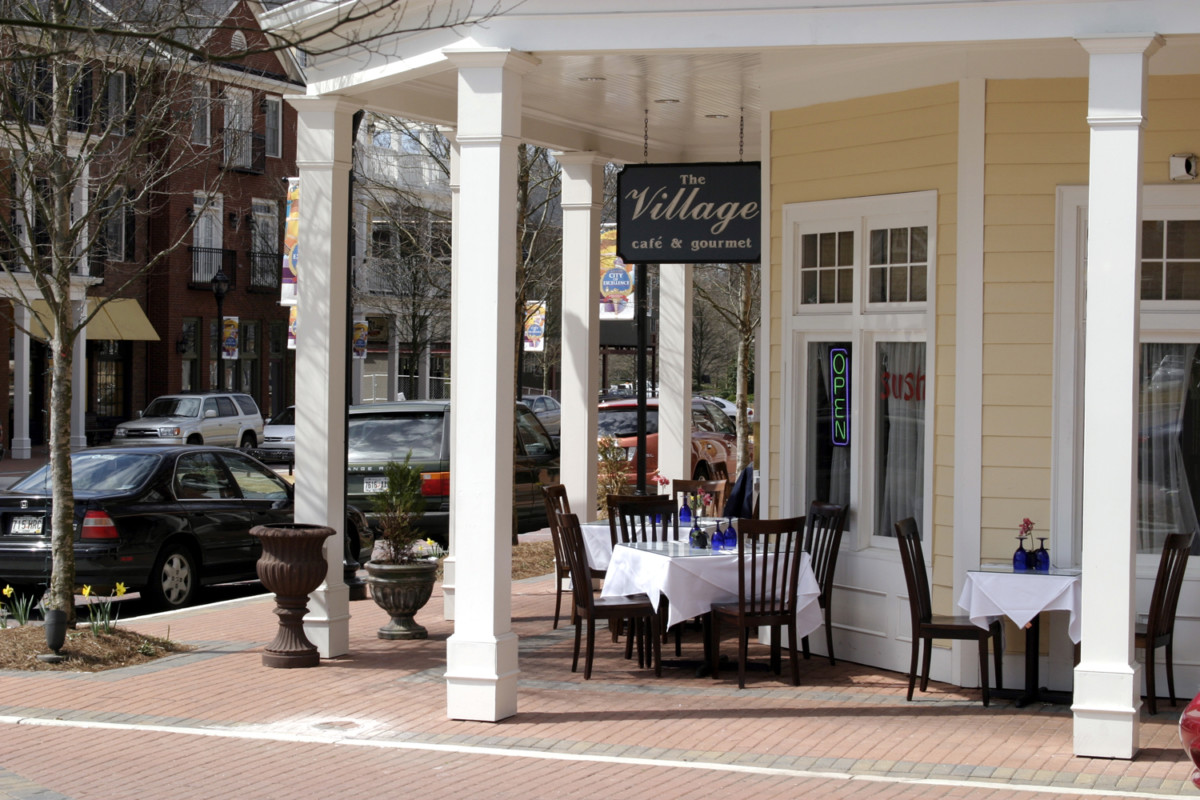 The Village restaurant is just an example of the many unique dining options in Smyrna.