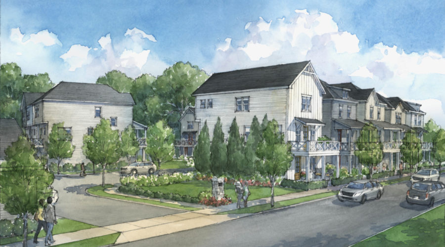 Edward Andrews Homes to Open New Intown Bixton Community