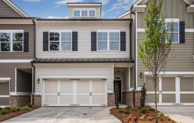 new townhome at Parc at Chastain