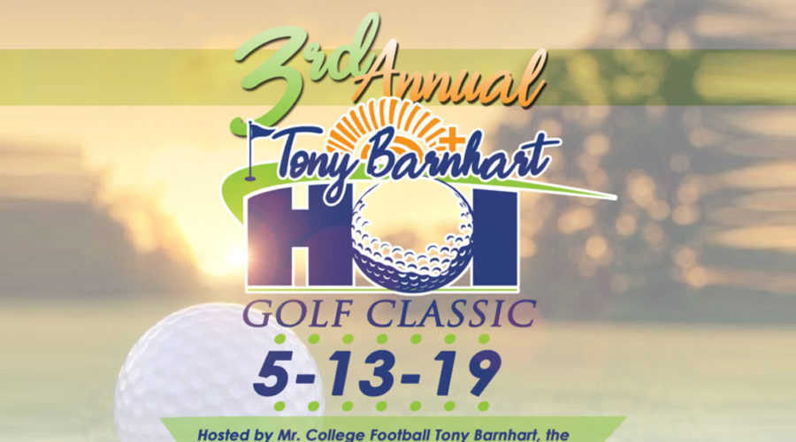 SR Homes to Sponsor 3rd Annual Tony Barnhart HOI Golf Classic