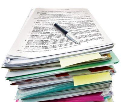 leasing paperwork