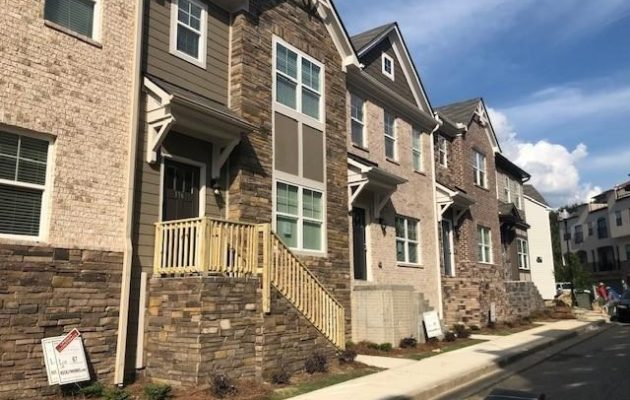 Atlanta townhomes