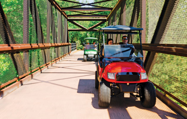 golf cart paths in Peachtree City