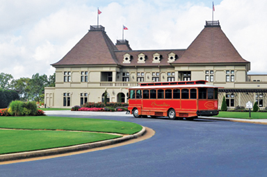 chateau elan-trolley in Braselton