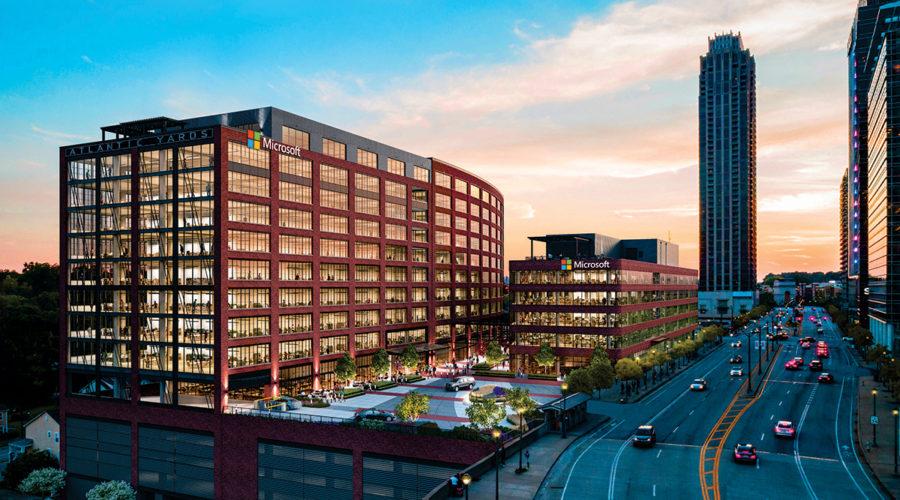 Big City, Big Moves-Microsoft,Papa Johns,Common Living expand in Atlanta