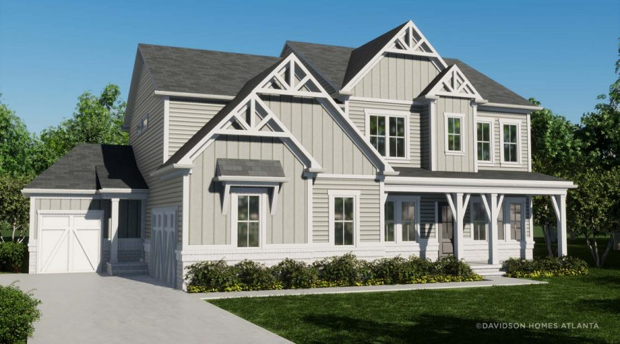 Davidson Homes Enters Atlanta with Fabulous New Home Options
