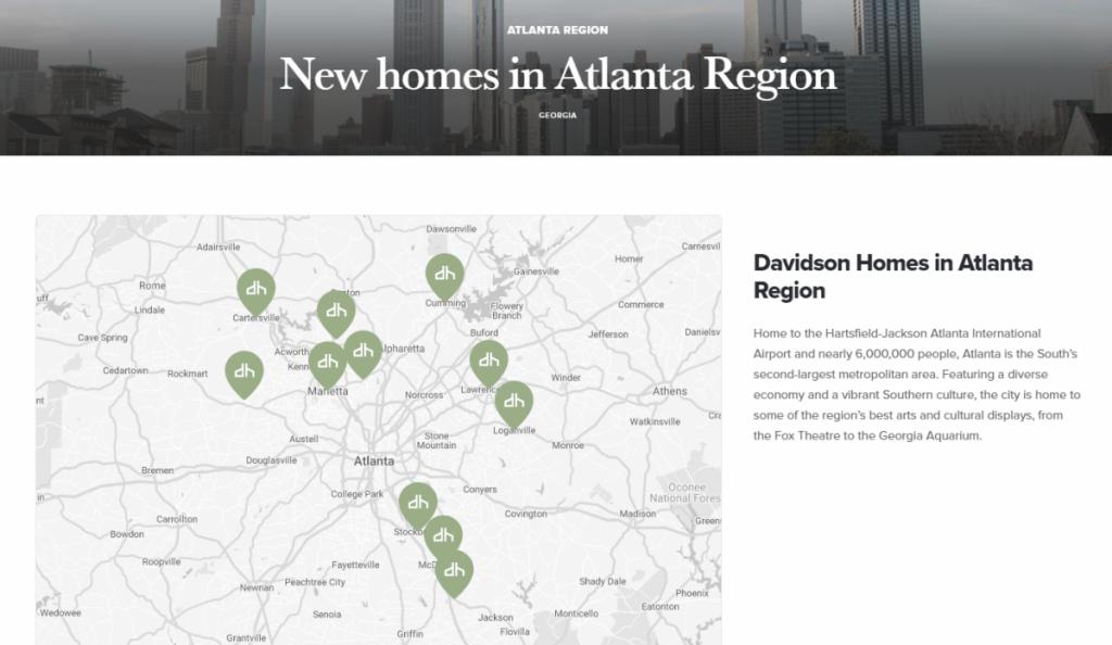 Davidson Homes in Atlanta