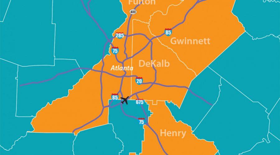 Economic Growth in Atlanta - Henry, Gwinnett, DeKalb & Fulton